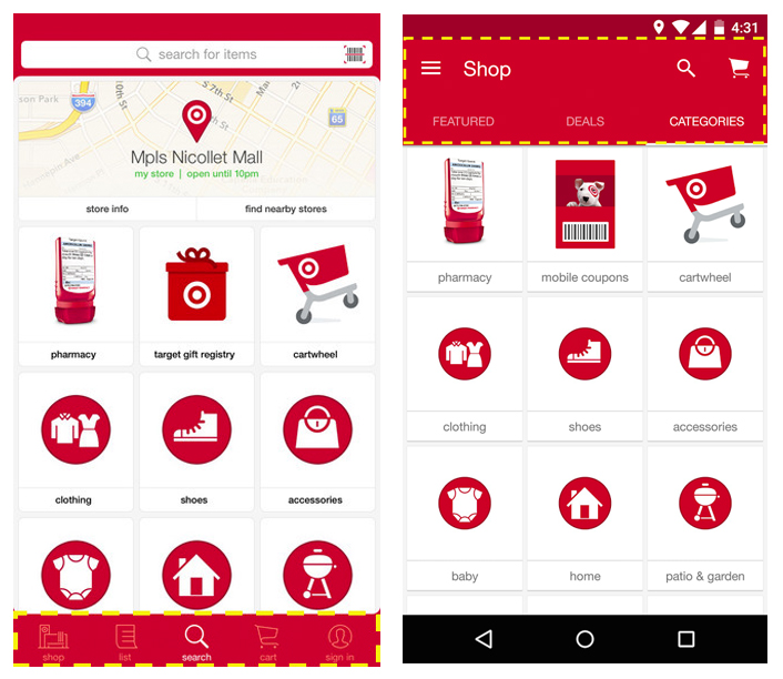 target mobile app pros and cons of mobile app development